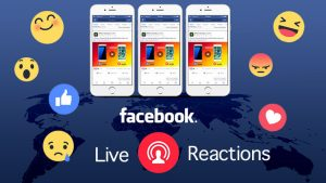 Come fare dirette live con reactions su Facebook