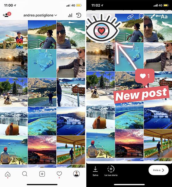 Storie per engagement Instagram