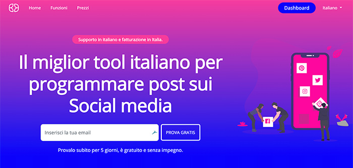 Iku Social App per Facebook