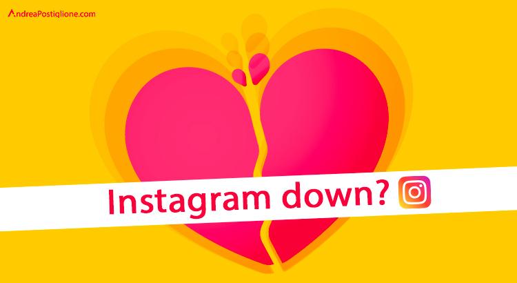 Instagram down