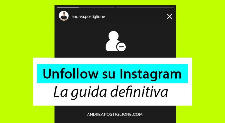 Unfollow Instagram